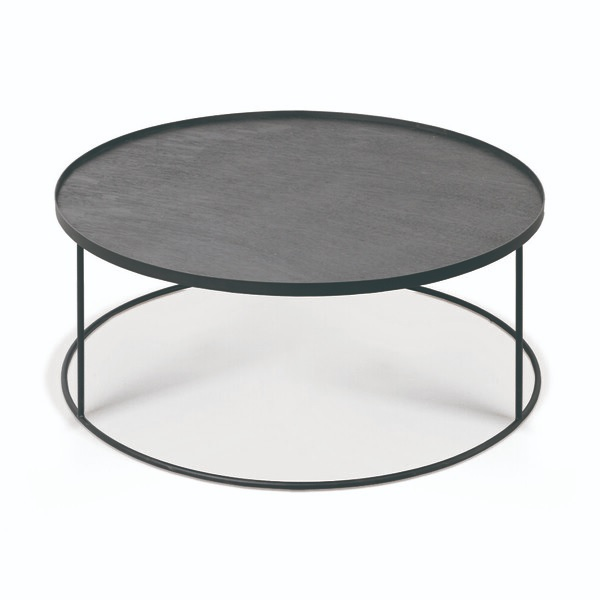 table basse round tray