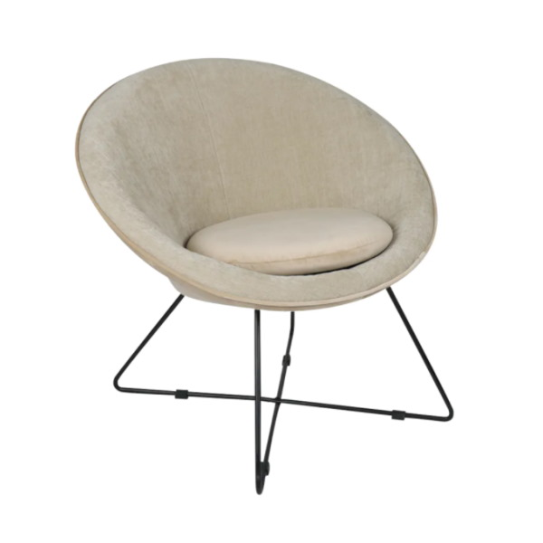 Fauteuil circle Beige